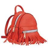 Сумка-рюкзак, красная, 19.5x17x13