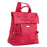 Сумка-рюкзак, красная, 29x33x15см