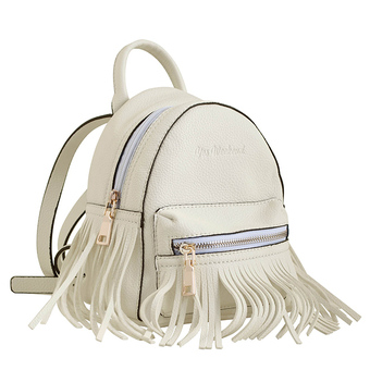 Рюкзак YES! Сумка-рюкзак, кремовая, 19.5x17x13