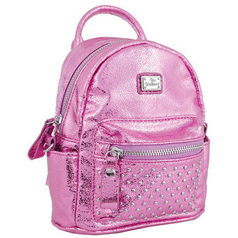 Рюкзак YES! Сумка-рюкзак, розовая, 17x20x8см
