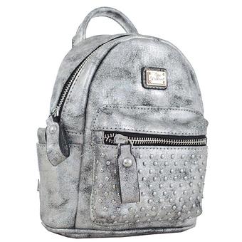 Рюкзак YES! Сумка-рюкзак, темно-серая, 17x20x8см