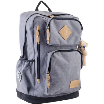 Рюкзак YES! OX 190, серый, 32x45.5x16.5