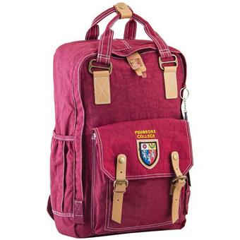 Рюкзак YES! OX 195, бордовый, 27.5x42x12