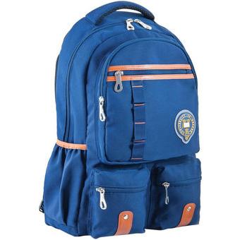 Рюкзак YES! OX 292, синий, 30x47x14.5