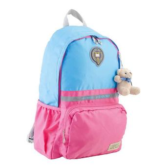 Рюкзак YES! OX 311, голубой-розовый, 29x45x13