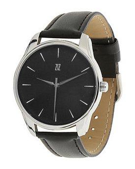 28d052e7 Белым по черному (черный, серебро). Мужские часы ZIZ Белым по ...